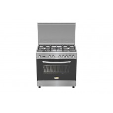Homy Gas Cooker/5Burner/50X80/FS/Steel - (HOM85C31X)