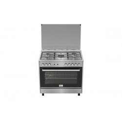 Homy Gas Cooker/5Burner/60X90/FS/Steel - (HOM95C31X)