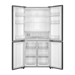 Haier Refrigerator / 17.80 cu/ft. / Side by Side - 4Door / Silver - (HRF550SG)
