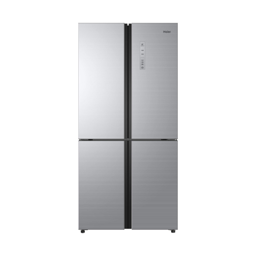 Haier Refrigerator / 17.80 cu/ft. / Side by Side - 4Door / Silver - (HRF550SG)