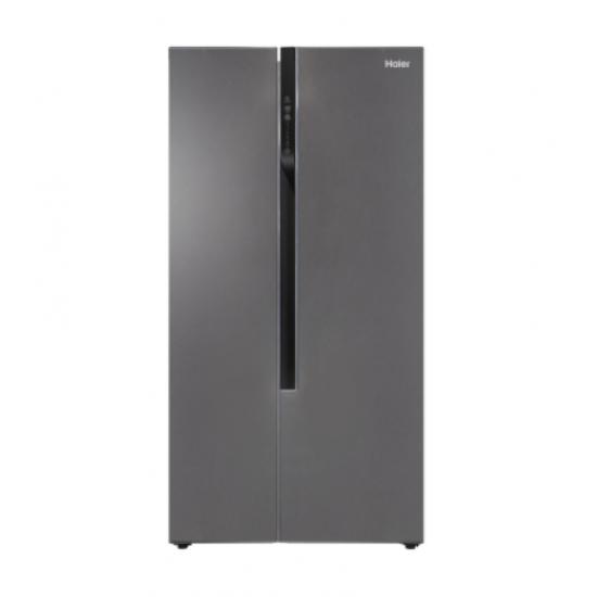 Haier Refrigerator / Inverter / 19.80 cu/ft. / Side by Side 2Door / Silver - (HRF718DS)