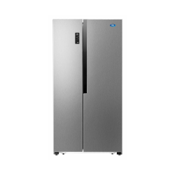 HAAS Refrigerator / 17.8 cu/ft. / Side by Side 2Door / Steel  - (HRKS128S)