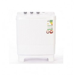 Haas Twintub Washing Machine/6Kg/White - (HWT60XL)