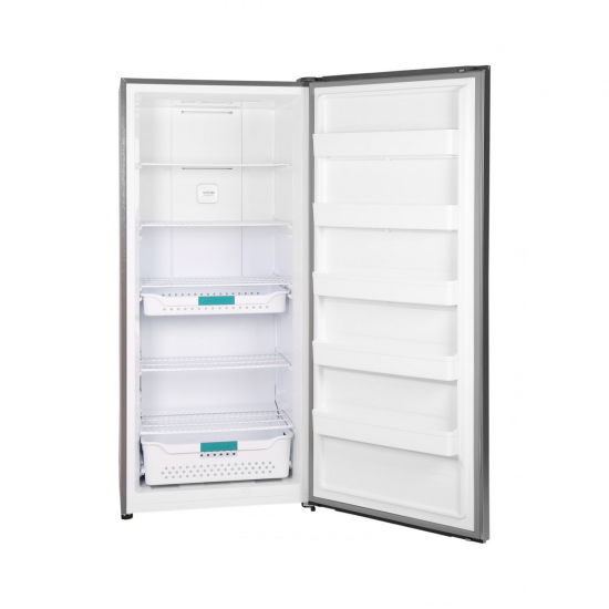 Hisense Refrigerator 21 cu/ft  Single Door Steel - (RSI72DLSS)