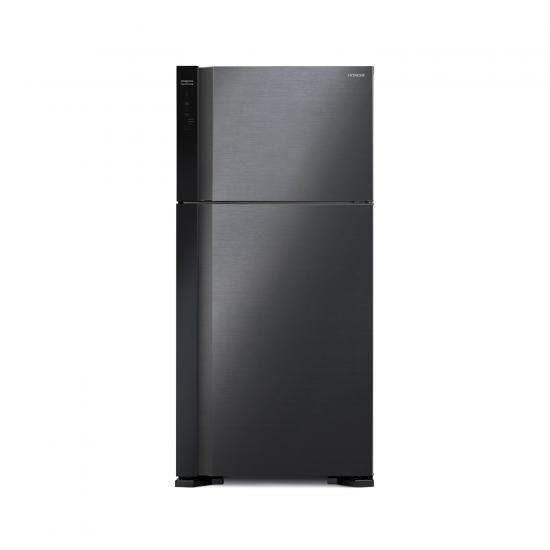 Hitachi Refrigerator 15.89 cu/ft 2Door Black - (R-V600PS7K BBK)