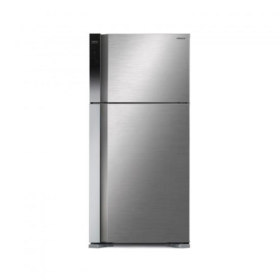 Hitachi Refrigerator 15.89 cu/ft 2Door Steel - (RV600PS7KBSL)