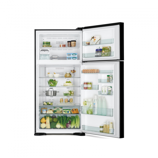 Hitachi Refrigerator 19.43 cu/ft 2Door Steel - (R-V700PS7K BSL)