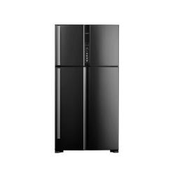 Hitachi Refrigerator 24.73 cu/ft 2Door Black - (R-V905PS1KV BBK)