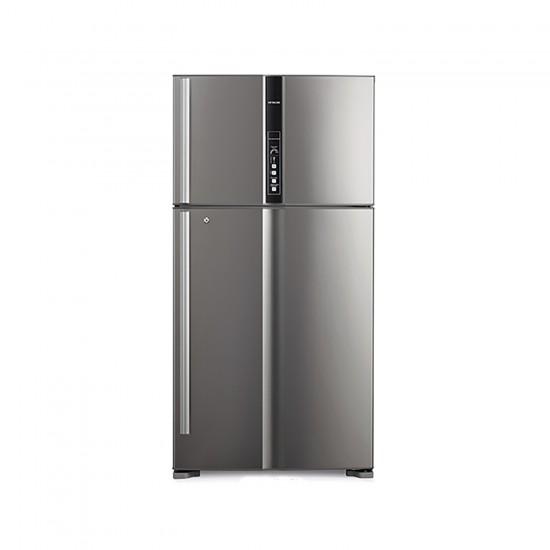 Hitachi Refrigerator 24.73 cu/ft 2Door Steel - (R-V905PS1KV BSL)