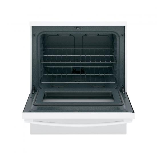 G.E. Electric Cooker/Coil/4 Hotplate/White - (JCB535DIW)