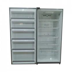 Kelvinator Upright Freezer 16.84 cu/ft Silver - (KLAFV530BE2)