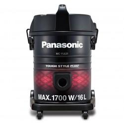Panasonic Vacuum Cleaner/Drum/16Ltr/1700W/Red-Black - (MCYL631R747)