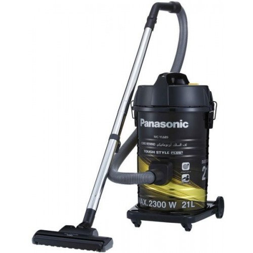 Panasonic Vacuum Cleaner/Drum/21Ltr/2300W/Gold-Black - (MCYL689N747)