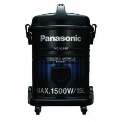 Panasonic Vacuum Cleaner/Drum/15Ltr/1500W/Blue-Black - (MCYL690A)