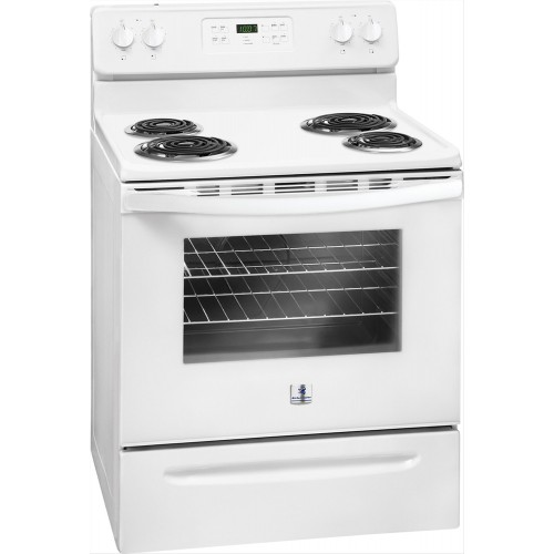 Kelvinator Electric Cooker/Coil/4 Hotplate/White - (MFF3016RW)