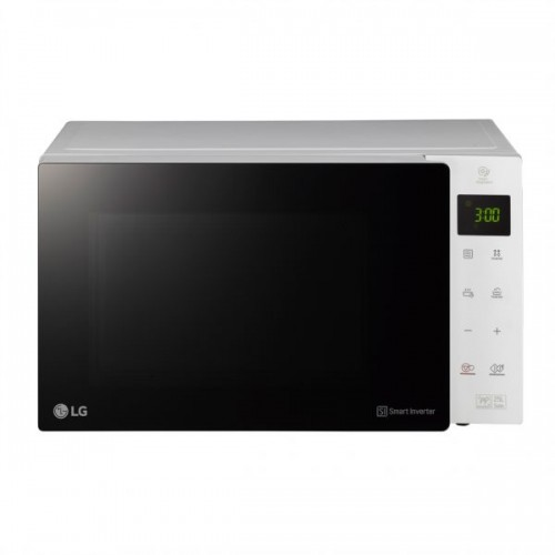 LG Microwave Oven/Solo/25Ltr/1150W/White - (MS2535GISW)