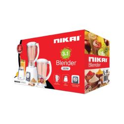 Nikai Blender / 1.5Ltr / 4 Speeds / 430W - (NB2900EB)
