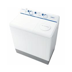 Hitachi  Twintub Washing Machine/Washer 8Kg/Dryer 3kg/White - Thailand - (PS-998FJ)