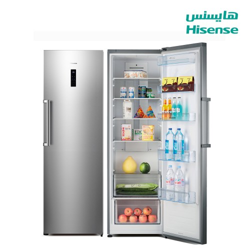 Hisense Refrigerator 12.9 cu/ft  Single Door Silver - (RS49DLSS)