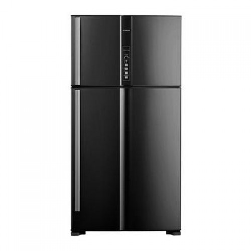 Hitachi Refrigerator 21.20 cu/ft 2Door Black - (R-V805PS1KV BBK)