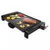 SENCOR Electric Grill/Flat + Ribbed surface/Non stick/Oil drip tray/2300W - (SBG 106BK)