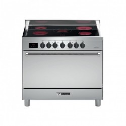 Bompani Electric Cooker/60x90/Ceramic/Fan/5 Hotplate/steel - (TECH9008VTCTP)