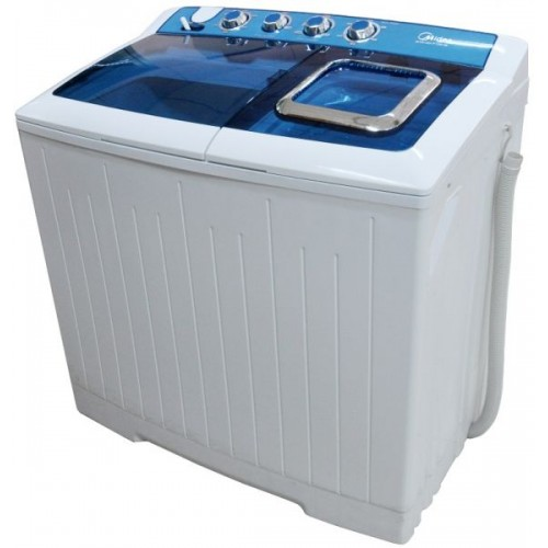 Midea Twin tub Washing Machine/10Kg/White - (TW140AD)