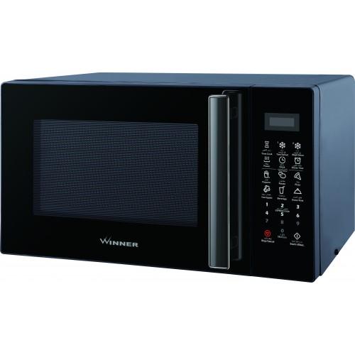 Winner Microwave Oven/Solo/20Ltr/1050W/Black - (WEM720CXX)