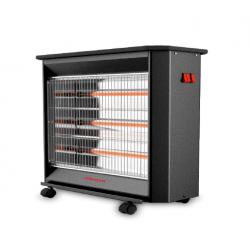 Winner Electric Heater/Qaurtz/4 Bars/Wheels/2400W - (WHQ1982)