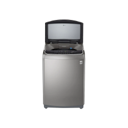 LG Auto Washing Machine / Top Load / Wi Fi / Steam / 6 motion DD / Inverter / Turbo Wash / 16Kg / ThinQ / Stainless Silver - (WTS16HHMK)