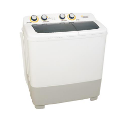 White Westinghouse Twin tub Washing Machine/10Kg/White - (WW1200MT9)