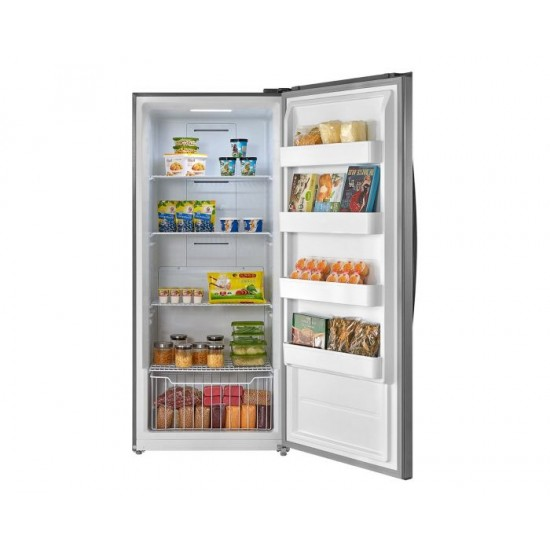 White Westinghouse Upright Refrigerator 21 cu/ft Steel - (WWFR21TVS)
