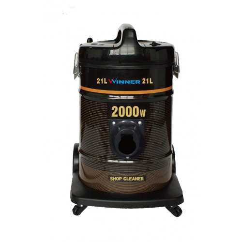 Winner Vacuum Cleaner/Drum/21Ltr/2000W/Dark Brown - (WYDE2000W)