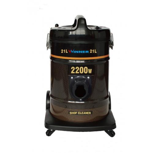 Winner Vacuum Cleaner/Drum/21Ltr/2200W/Dark Brown - (WYDE2200W)